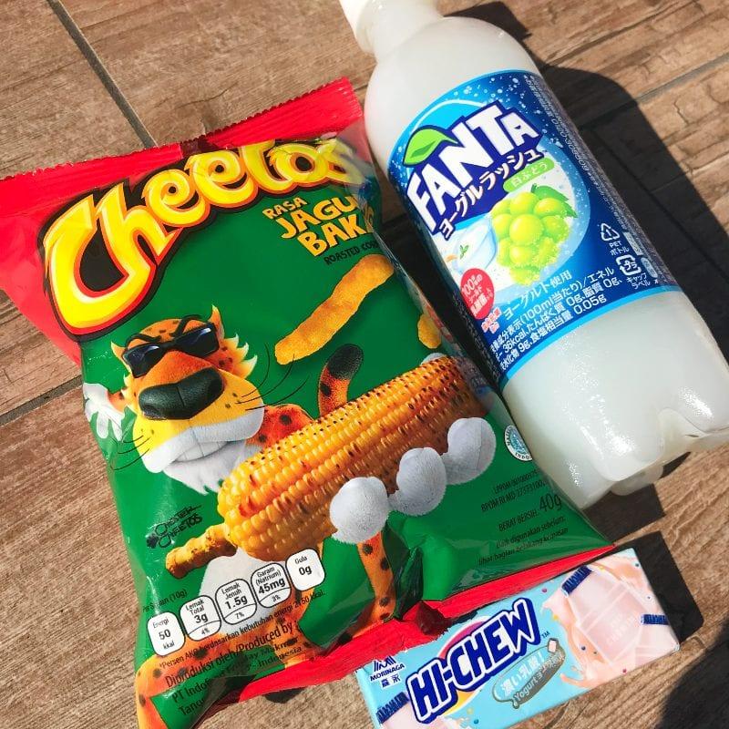 Fanta Hi Chew Cheetos MunchPak Snacks
