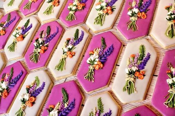 Intricate Custom Cookie Design