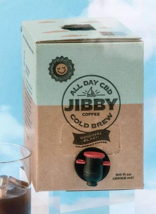 Jibby CBD Coffee Cold Brew On Tap