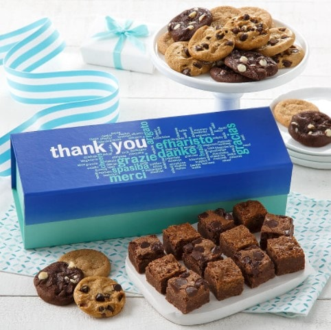 Mrs Fields Thank You Corporate Gift Cookies Box