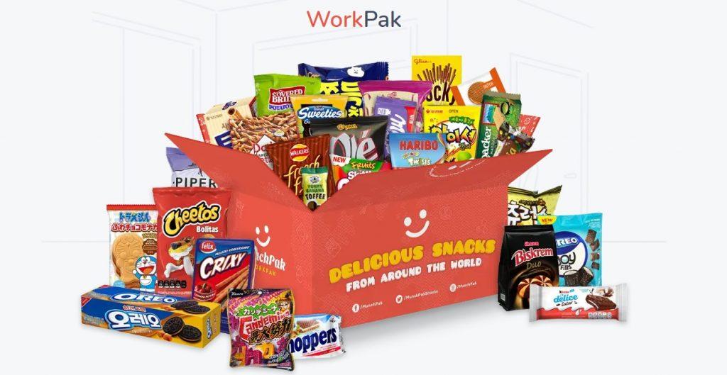 MunchPak International Snacks For The Office