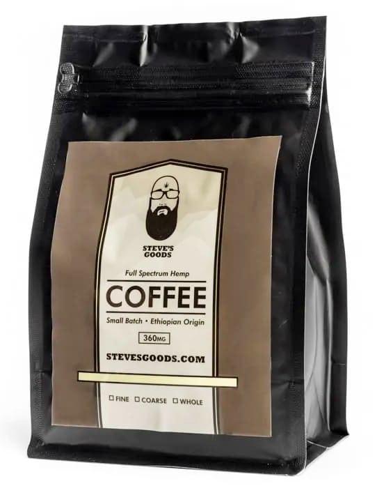 Steves Good Full Spectrum Hemp Coffee
