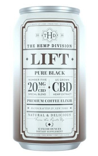 The Hemp Division Chilled CBD Coffee