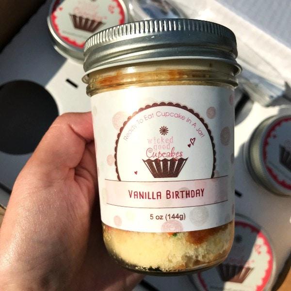 Wicked Good Cupcakes Vanilla Cupcake in A Jar Flavor