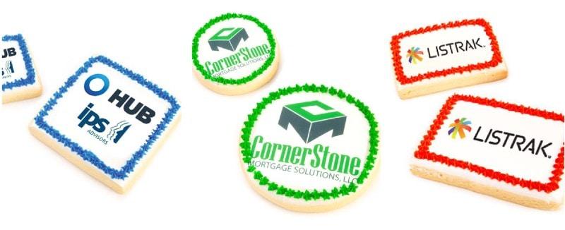 Cookies By Design Custom Logo Cookies