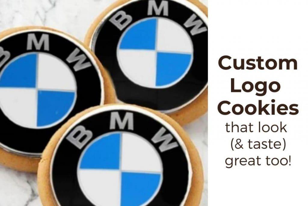 Custom Logo Cookies To Order Online