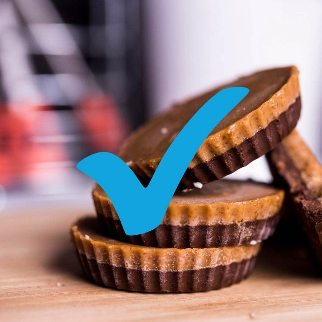 Eat Peanut Butter Cups With Braces