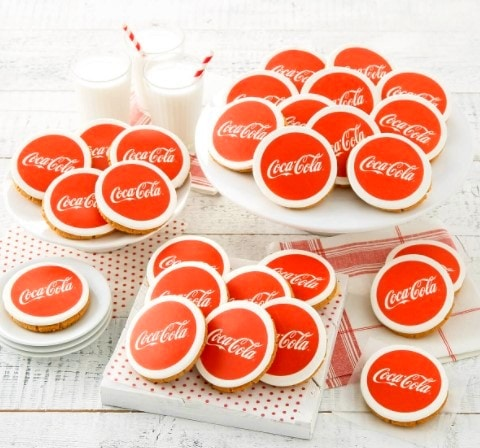 Mrs Fields Corporate Logo Cookies