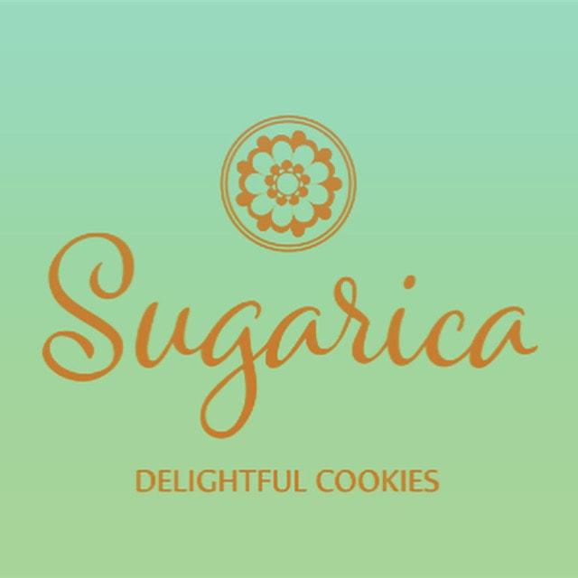 Sugarica Custom Cookie Company Logo